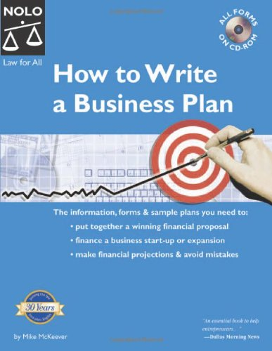 9781413300925: How To Write A Business Plan