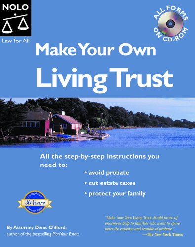 9781413300963: Make Your Own Living Trust 7th Edition