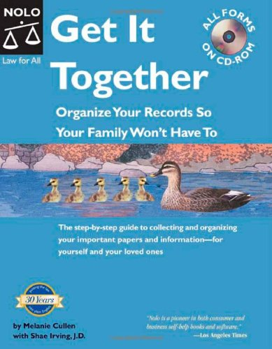 9781413301052: Get It Together: Organize Your Records So Your Family Won't Have To