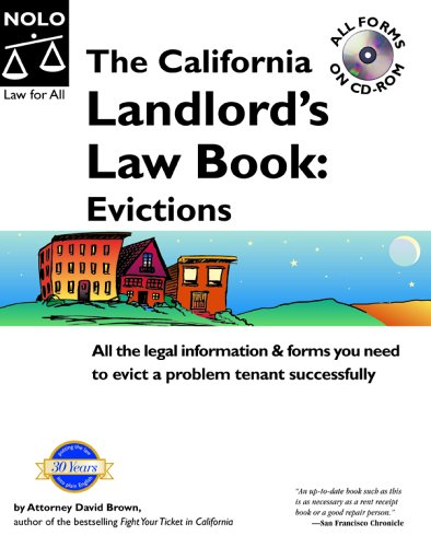 9781413301427: The California Landlord's Law Book: Evictions (California Landlord's Law Book Vol 2 : Evictions)
