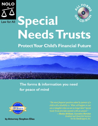 9781413301458: Special Needs Trusts : Protect Your Child's Financial Future