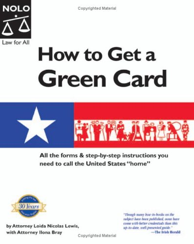 9781413301823: How to Get a Green Card