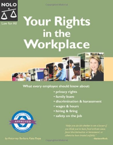9781413301885: Your Rights In The Workplace (7th Edition)