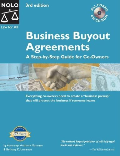 9781413301915: Business Buyout Agreements: A Step by Step Guide For Co-Owners