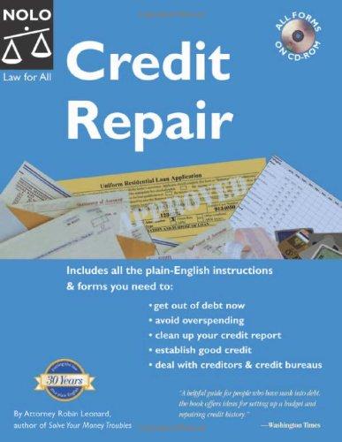 9781413301922: Credit Repair (Book with CD-Rom)