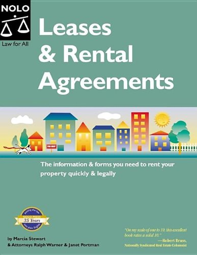 9781413303490: Leases & Rental Agreements 6th Edition