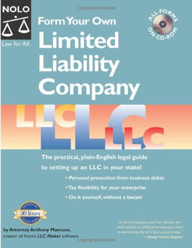 9781413303636: Form Your Own Limited Liability Company 4th Edition