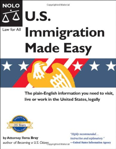 9781413304091: U.S. Immigration Made Easy