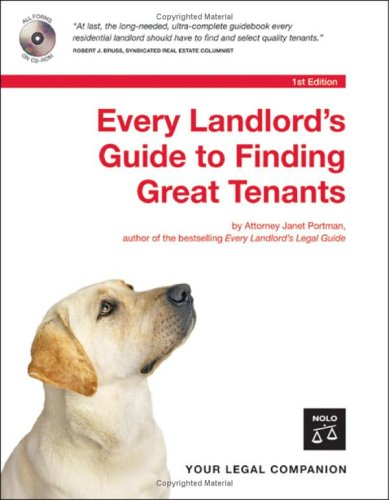 9781413304138: Every Landlord's Guide to Finding Great Tenants