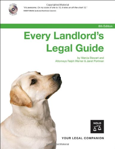 9781413304145: Every Landlord's Legal Guide (Book w/ CD-Rom)
