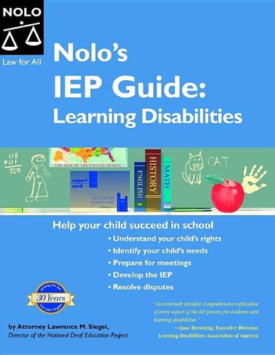 9781413304220: Nolo's IEP Guide: Learning Disabilities