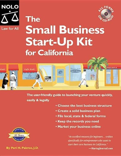 9781413304435: Small Business Start-up Kit for California
