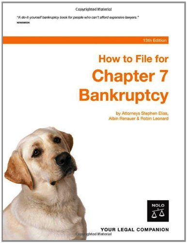 9781413304510: How To File For Chapter 7 Bankruptcy 13th Edition