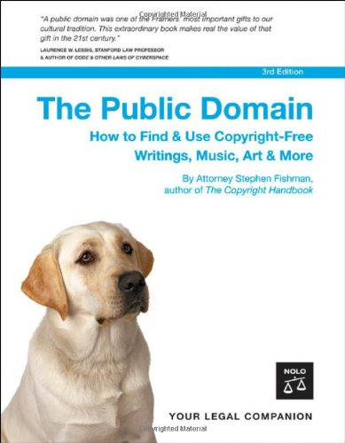 9781413304541: The Public Domain: How to Find & Use Copyright-free Writings, Music, Art & More