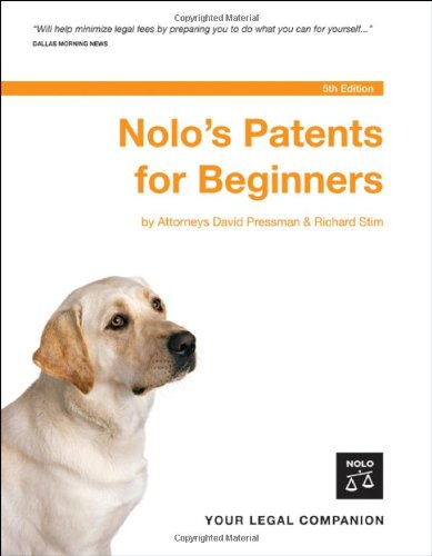 9781413304558: Nolo's Patents for Beginners