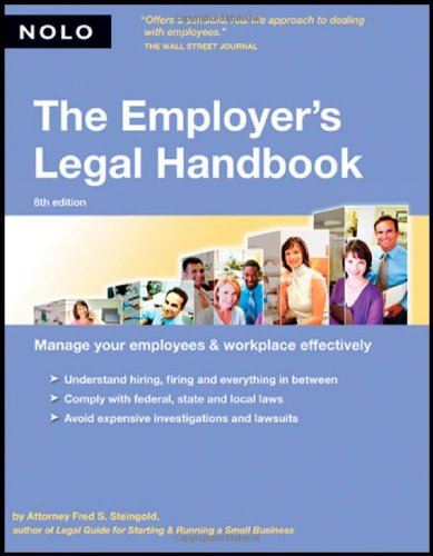 9781413304565: The Employer's Legal Handbook