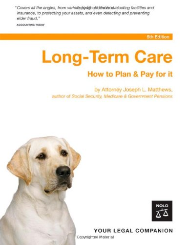 9781413305210: Long-Term Care: How to Plan & Pay for It