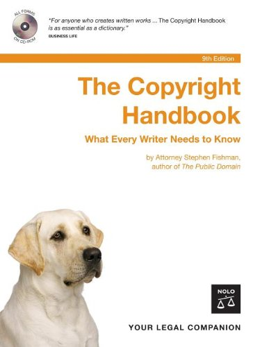 9781413305333: The Copyright Handbook: How to Protect & Use Written Works with CDROM
