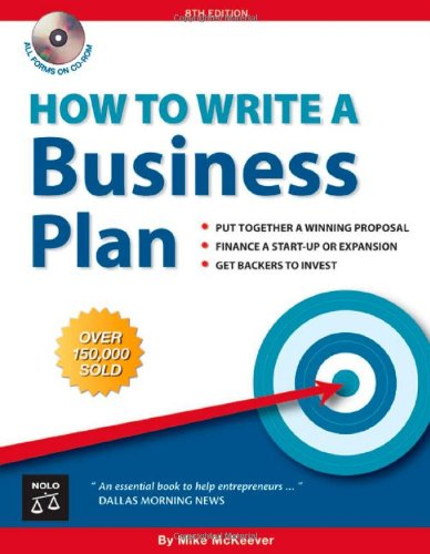 How to Write a Business Plan: Mike P. McKeever