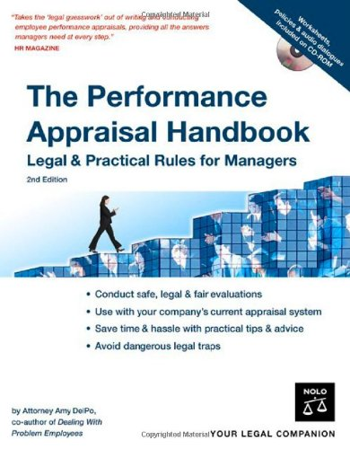 9781413305678: The Performance Appraisal Handbook: Legal & Practical Rules for Managers
