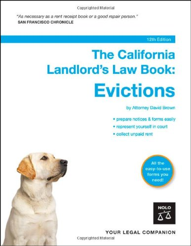 9781413305708: The California Landlord's Law Book: Evictions.  Book with CD-Rom (12th edition)