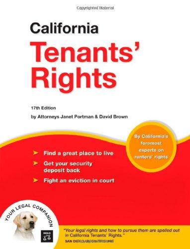9781413305739: California Tenants' Rights