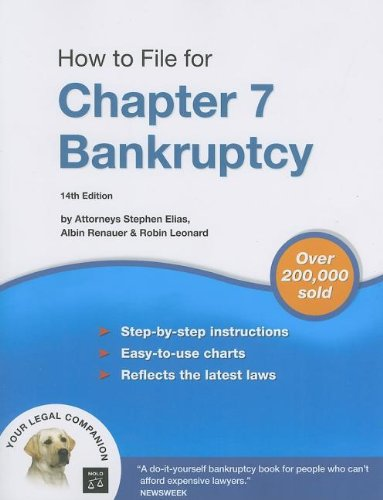 9781413306279: How to File for Chapter 7 Bankruptcy