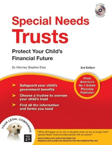 9781413306309: Special Needs Trusts: Protect Your Child's Financial Future