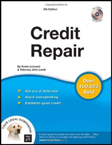 9781413306354: Credit Repair (book with CD-Rom)