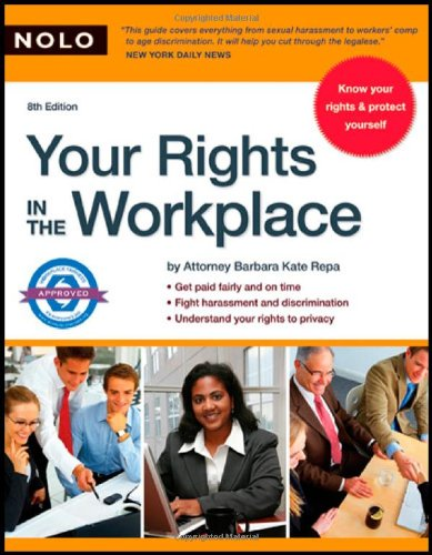 9781413306439: Your Rights in the Workplace, 8th Edition