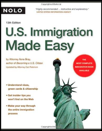 9781413306521: U.S. Immigration Made Easy