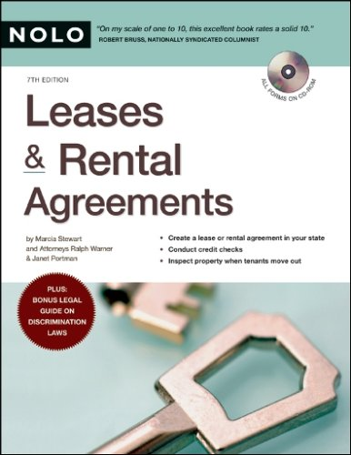 Leases & Rental Agreements (1413306926) by Janet Portman; Marcia Stewart; Ralph Warner