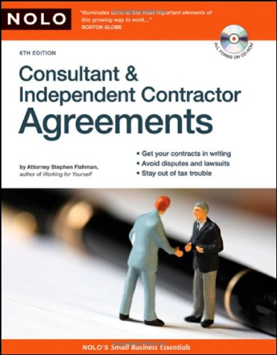 9781413307146: Consultant & Independent Contractor Agreements