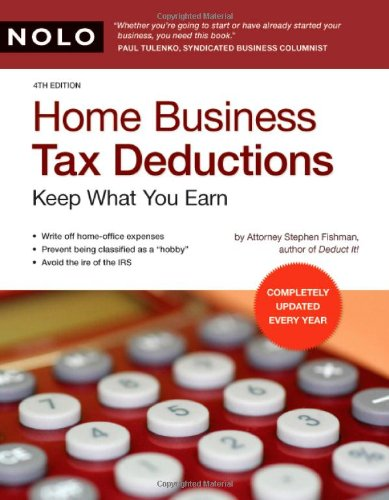 9781413307207: Home Business Tax Deductions: Keep What You Earn