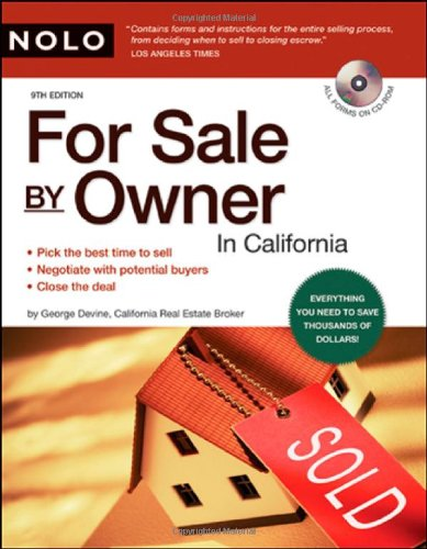 9781413307504: For Sale by Owner in California