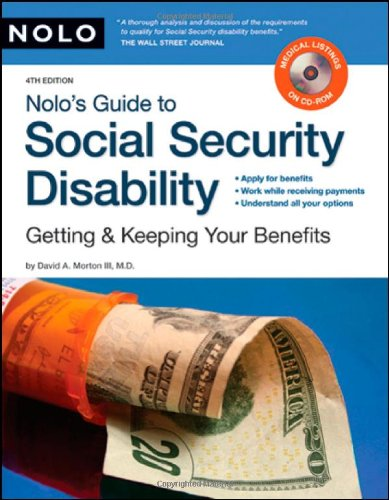 9781413307641: Nolo's Guide to Social Security Disability: Getting & Keeping Your Benefits (including CD)