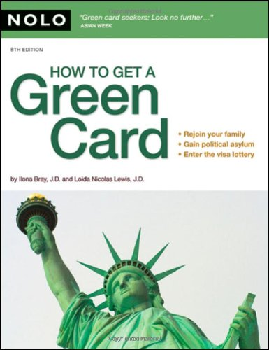 9781413308525: How to Get a Green Card