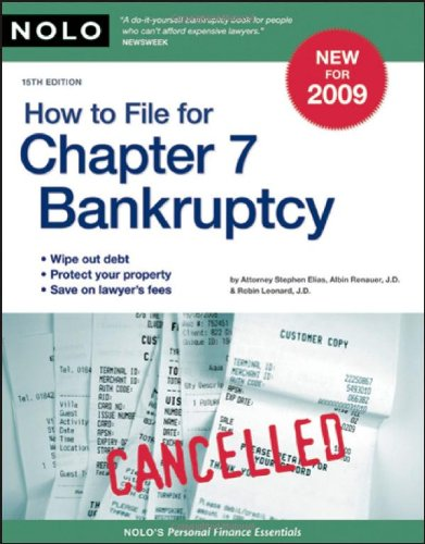 9781413308976: How to File for Chapter 7 Bankruptcy
