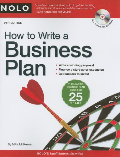 9781413309089: How To Write A Business Plan
