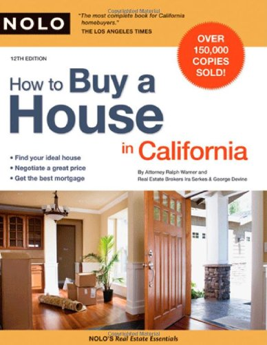 9781413309232: How to Buy a House in California