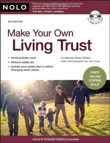 9781413309331: Make Your Own Living Trust