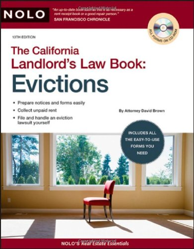9781413309348: California Landlord's Law Book: Evictions