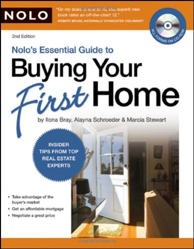 9781413309355: Nolo's Essential Guide to Buying Your First Home (book with CD-Rom & Audio)