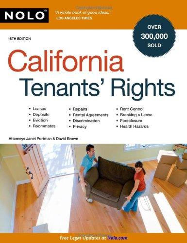 9781413309362: California Tenants' Rights