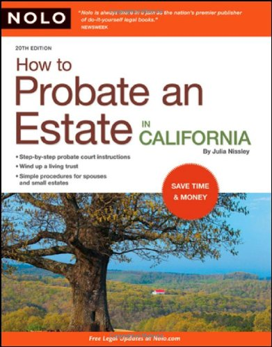 9781413309379: How to Probate an Estate in California