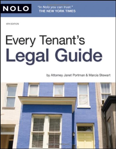 Every Tenant's Legal Guide (141331015X) by Janet Portman Attorney; Marcia Stewart