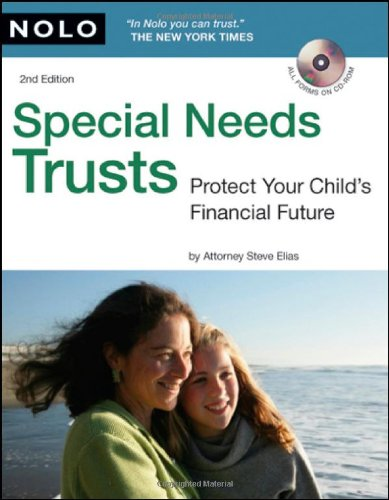 9781413310177: Special Needs Trusts: Protect Your Child's Financial Future (Special Needs Trust: Protect Your Childs Financial Future (W/CD))