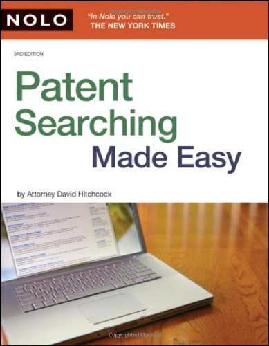 9781413310368: Patent Searching Made Easy: How to Do Patent Searches on the Internet & in the Library