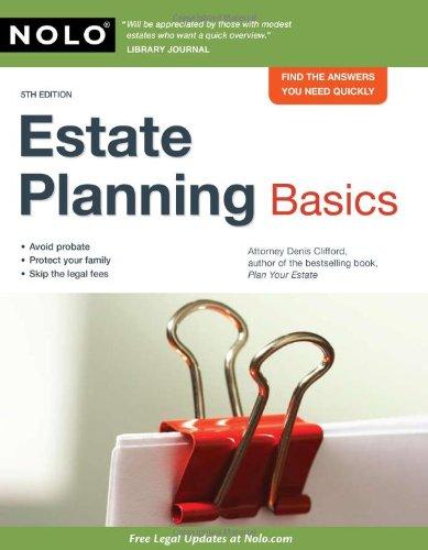 9781413310504: Estate Planning Basics