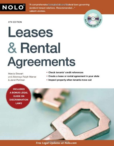 9781413310511: Leases & Rental Agreements